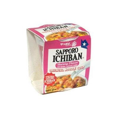 Sapporo Ichiban Shrimp Flavor Oriental Noodle, 2.25 oz, - Pack of 12