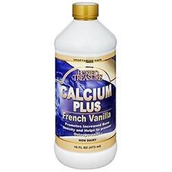 Buried Treasure Products - Calcium Plus French Vanilla Flavor - 16 oz.