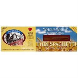 Hodgson Mill Thin Spaghetti Whole Wheat Whole Grain Non GMO - 16 oz