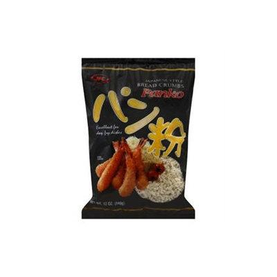 Panko Bread Crumbs - Japanese Style - 12 Bags (12 oz ea)