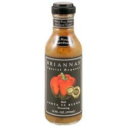 Briannas Rich Santa Fe Blend Dressing, 12 oz, - Pack of 6
