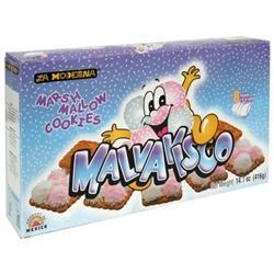 La Moderna Malavisco Marshmallow Cookies - 10 Boxes (15.9 oz ea)