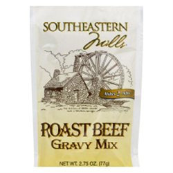 Southeastern Mills Roast Beef Gravy Mix, 2.75 oz, - Pack of 24