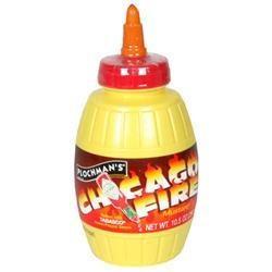 Plochman's Plochmans Premium Chicago Fire Mustard, 10.5 oz, - Pack of 6