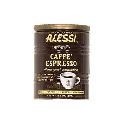 Vigo Alessi Espresso Ground Coffee, 8.8 oz Cans, 6 pk