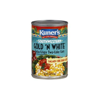 Kuner-empson/faribault Foods, Inc. Kuners of Colorado Southwest Extra Crispy Gold/White Corn - 12 Cans (15 oz ea)