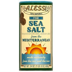 Alessi Fine Sea Salt - 24 oz