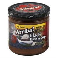 Arriba Bean Dip Blk Spicy, Pack of 6