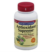 tures Answer Antioxidant Supreme 60 Vegicaps from Nature's Answer