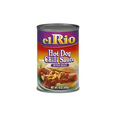 El Rio Sauce Hot Dog Chili Beef -Pack of 12
