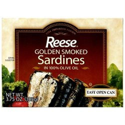 Reese Sardine Smkd Olive Oil -Pack of 10