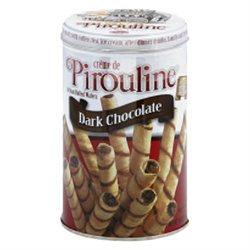 Pirouline Artisan Rolled Wafers, Dark Chocolate, 14 oz, 2 pk