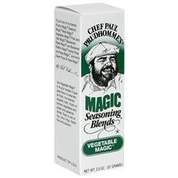 Chef Paul Prudhomme's Magic Seasoning Blends Vegetable Magic - 2 oz