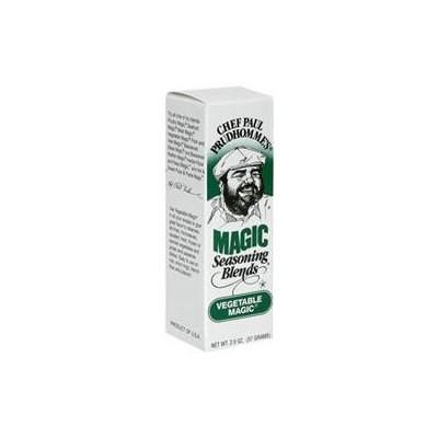 Chef Paul Prudhomme's Magic Seasoning Blends Vegetable Magic - 2 oz