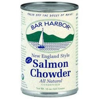 Bar Harbor All Natural Salmon Chowder - 15 oz