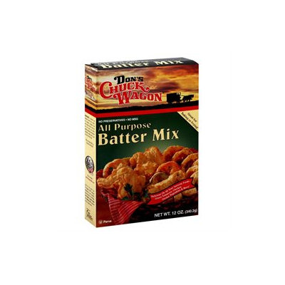Don's Chuck Wagon Mix Batter All Purpose, Pack of 6