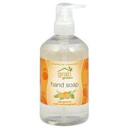 GrabGreen - Hand Soap Tangerine with Lemongrass - 12 oz.
