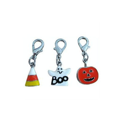 Mirage Pet Products 13-01 PMP Halloween Lobster Claw Charms Zipper Pulls Pumpkin One Size