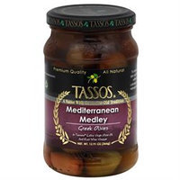 Tassos All Natural Greek Olives Mediterranean Medley 12.91 oz