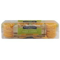 Sesmark Foods BG18025 Sesmark Foods Rice Thins Cheddar - 12x3.5OZ