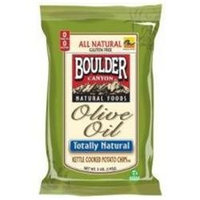 Boulder Canyon BG11128 Boulder Olive Oil Kettle Chip - 12x5OZ