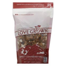 Love Grown Foods - Oat Clusters Toasted Granola Sweet Cranberry Pecan - 12 oz.