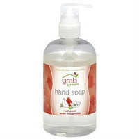 GrabGreen - Hand Soap Red Pear with Magnolia - 12 oz.