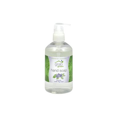 GrabGreen - Hand Soap Thyme with Fig Leaf - 12 oz.