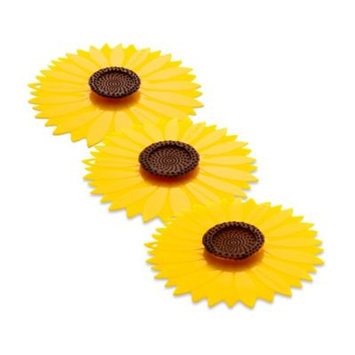 Charles Viancin Sunflower Silicone Lid-YELLOW-29