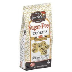 Joseph's Cookie Sf Choc Chip -Pack of 12