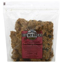 Big Sky Granola Clusters Cranberry Almond - 12 oz