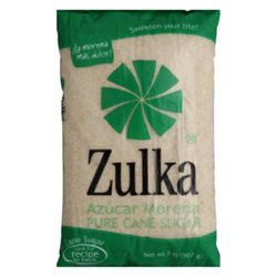 Zulka Pure Cane Sugar, 2 lb, Pack of 10