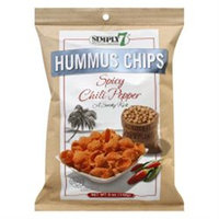 Simply 7 Hummus Chips Spicy Chili Pepper - 5 oz