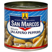 San Marcos B02952 San Marcos Whole Jalapeno Tin -12x11oz