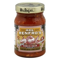 Mrs. Renfro's Gourmet Salsa Roasted Garlic 16 oz