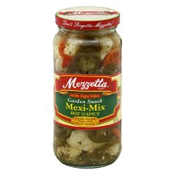 Mezzetta Mexi Mix Hot N Spicy 16 Oz Pack Of 6