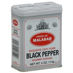 Szeged Black Pepper 4-Ounce Boxes -Pack of 12