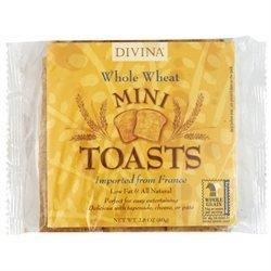 Divina Toast Tiny Whl Wht 2.8 OZ -Pack Of 24