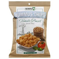Simply 7 Hummus Chips Tomato Basil - 5 oz