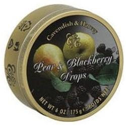 Cavendish & Harvey Fruit Tin Pear/Blackberry 5.3 Oz (Pack Of 12 )