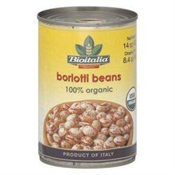 Bioitalia BG10821 Bioitalia Borlotti Beans - 12x14OZ