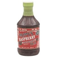 Pappy's Pappys Raspberry Concentrate Instant Tea, 12 oz, - Pack of 6