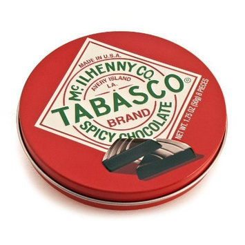 Tabasco Brand Tabasco Chocolate Wedges Tin (Pack of 12)
