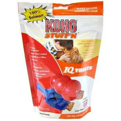 KONG Stuff'N IQ Treats Baked Salmon, Dog Treat, 12-ounces