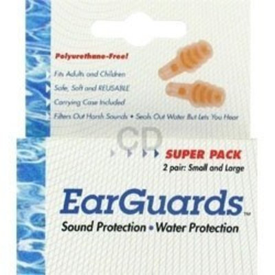 CIRRUS HEALTHCARE PRODUCTS EarGuards Ear Plugs, Bonus Pack - 2 pr