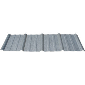 Union Corrugating 3.17-ft x 12-ft Ribbed Steel Roof Panel GAMR291200
