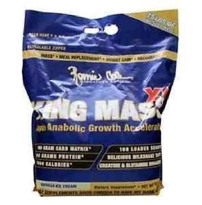 Ronnie Coleman Signature Series King Mass XL, Vanilla Ice Cream - 15 Lb