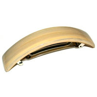 Smoothies Curved Rec Barrette - Black 00786