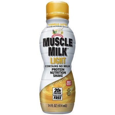 Muscle Milk Light Vanilla Latte Protein Nutrition Shake, 14 fl oz