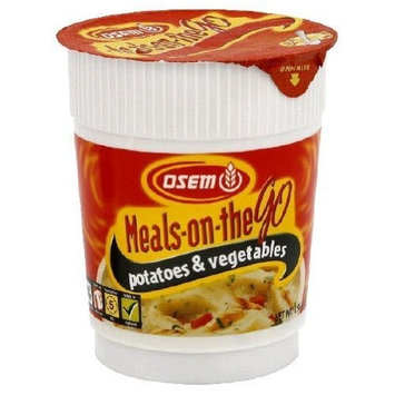 Osem Meals On The Go, Mashed Potatoes & Vegetables, 1.65 Ounce Packages (Pack of 12)
